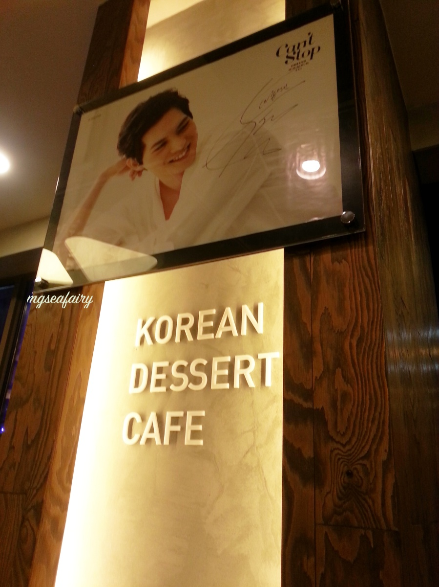 CNBLUE Jong Hyun's Sulbing Korean Dessert Cafe